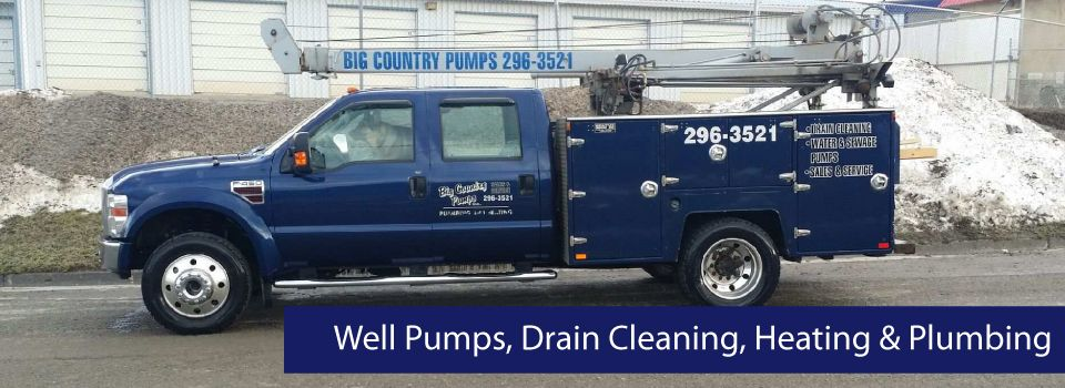 Well Pumps, Drain Cleaning, Heating & Plumbing | Pumping Truck